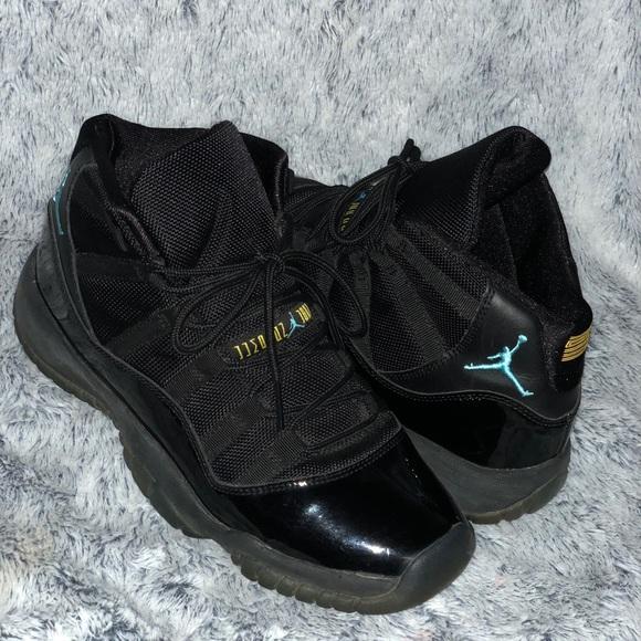 """ec102d4b7b5 Retro 11 Air Jordan """"Gammas"""" Black and Blue"""